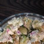 Potato salad with eggs (paleo)