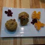 Muffins à l'orange et aux canneberges sans gluten / paléo