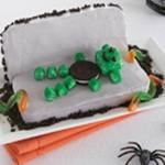 Gâteau cercueil de monstre