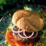 Hamburgers d'agneau à la menthe