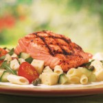 Salade de pâtes estivale au poisson avec Harvati