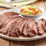 Tandoori Flank Steak with Pineapple Salsa
