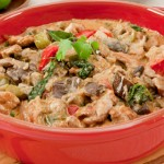 Red Coconut Chicken Curry