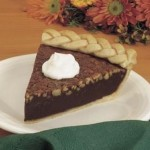 Fudgey Mocha Nut Pie