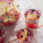 Sparkling Blueberry-Lime Punch