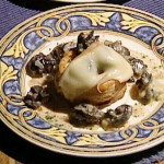 Escargots in Flaky Pastry Shells with Migneron Cheese