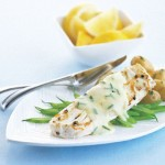 Pan-fried Halibut with Lemon-chive Hollandaise