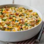 Creamy Corn & Zucchini