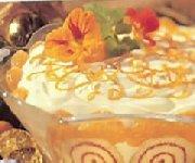 Creamy Mandarin Orange Trifle