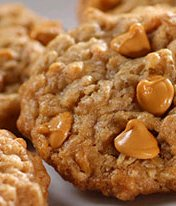 Simply Delicious Oatmeal-Butterscotch Cookies