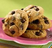 Peanut Buttery Chocolate Chip Cookies