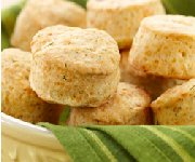 Biscuits aux herbes et au fromage