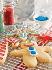 Jolly Peanut Butter Gingerbread Cookies