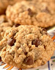 Good-For-You Choc-Oat-Chip Cookies