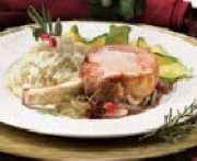 Rack of Pork with Tea and Fennel