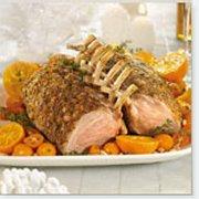 Rack of Pork with Creamy Orange Gravy