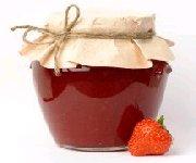 confiture de fraises et de miel