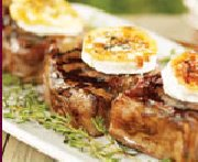 Grilled Lamb Chops with Warm Goat Cheese and Ginger