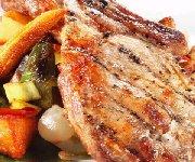 Côtelettes de porc aux légumes