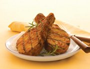 Maple Chipotle Grilled Pork Chop