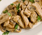 Swiss Pork and Mushrooms