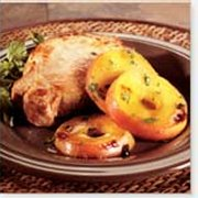 Pork Chops with Honeyed Apples