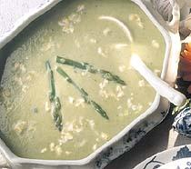Country Asparagus Cream Soup