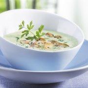 Cream of Zucchini and Scallop