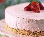 Dessert glacé aux fraises 2