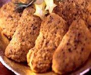 Escalopes croustillantes de dindon