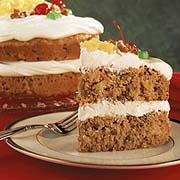 Festive Carrot Layer Cake