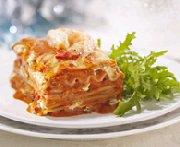 Creamy Seafood Lasagna with Herbs