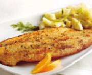 Citrus-coated Pangasius with Fennel Salad