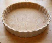 Flaky crust pie base 1