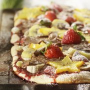 Fruit Topped Pizza