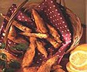 Poissons des chenaux frits