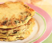 Nan's Spinach & Cheese Pancakes