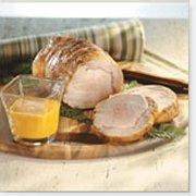 Roast Pork with Ginger-carrot Emulsion
