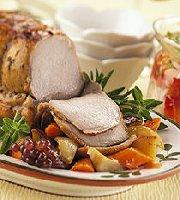 Herb Marinated Pork Roast