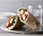 Honey Salsa Chicken & Spinach Wraps