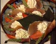 Prosciutto & Lobster Cream Cheese Rolls
