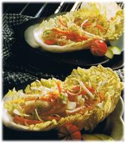 Salade de bouclettes à la chinoise