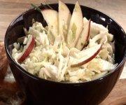 Salade de chou aux pommes 1