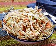 Salade de chou légère et vite faite