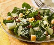 Cool and Crisp Cucumber Melon Salad