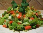 Salade de feuilles de céleri