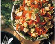 Tortellini and Smoked Salmon Salad with Dill
