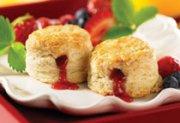 Strawberry Jam Scones