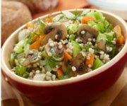 Herbed Mushroom Barley Soup
