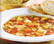 Vegetable Soup with Barley (crock pot)